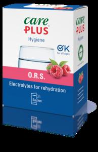 Care Plus® O.R.S. - Oral Rehydration Salt - Raspberry